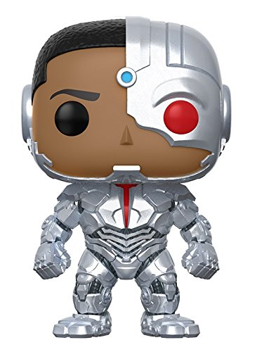 Funko POP! Movies: DC Justice League – Cyborg Toy (Justice League Cyborg Costume)