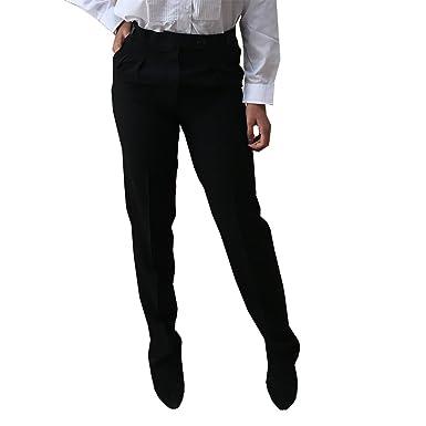 Polina Bande Large Pantalon De Jambe - Blk Et Bande Wht Usure EqC9w15xMi