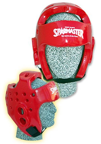 Tiger Claw PRO SPAR HEADGUARD RED - Small