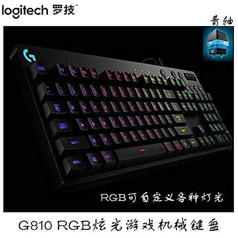 Juego de Teclado mecánico Green Axis Logitech G810 Juego Green Axis Teclado mecánico H: Amazon.es: Electrónica