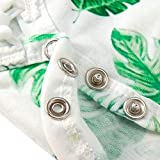 TUONROAD 0-3M Kids Large Green Leaves Outfit