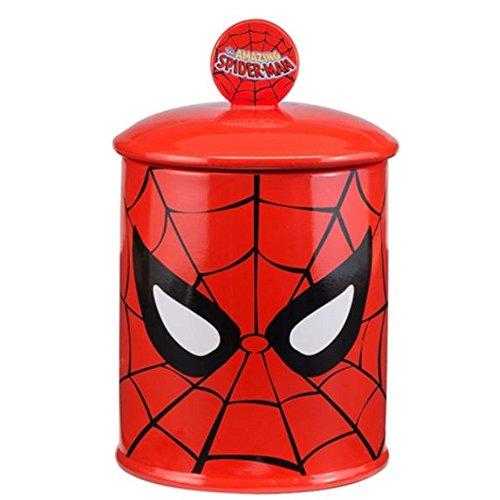 Marvel Spider-man Ceramic Cookie Jar by HollywoodMemorabilia
