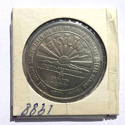 1987 Skyline Casino, Las Vegas, Nevada One Dollar Gaming Token (Obsolete Design) $1 Used