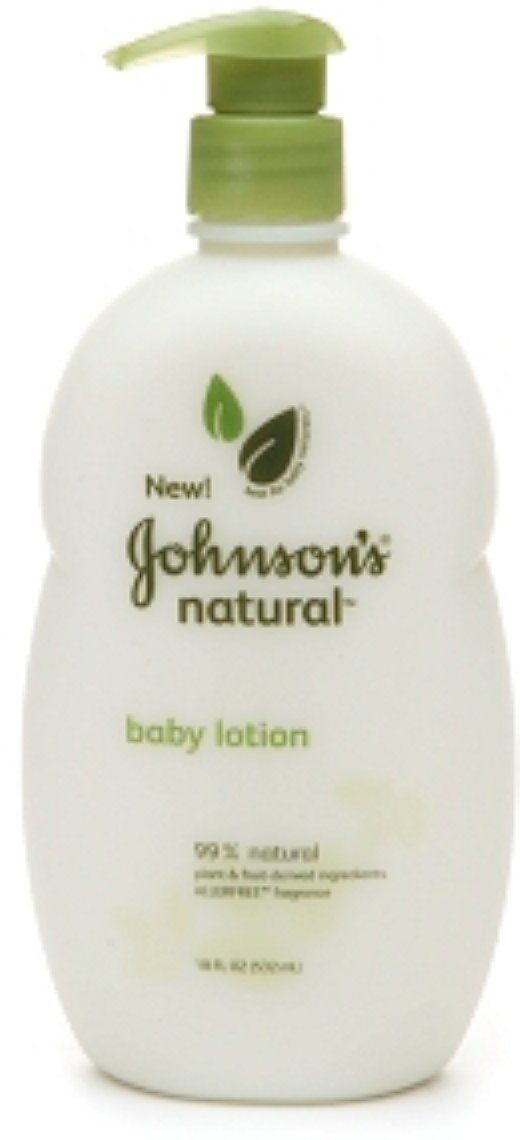 JOHNSON'S Natural Baby Lotion Allerfree Fragrance 18 oz (9 Pack)