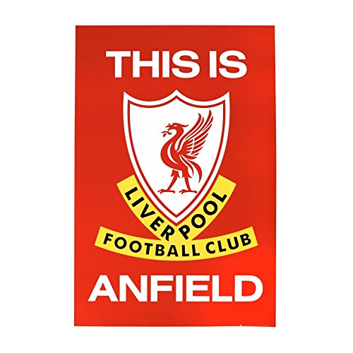 Liverpool FC LFC This is Anfield Poster - Anfield Poster