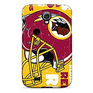 DaMMeke Fashion Protective Washington Redskins Case Cover For Galaxy S4