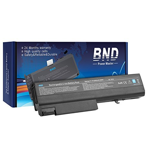 BND Laptop Battery Compatible with HP EliteBook 8440p 8440w 6930p / Compaq 6730b 6735b 6530b / ProBook 6440b 6445b 6540b 6545b - fits PN 482962-001 / HSTNN-UB69