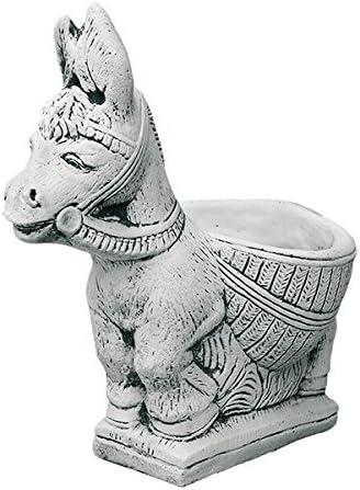 CATART Figura Decorativa Burro en hormigón-Piedra para el jardín Exterior 47cm.: Amazon.es: Jardín