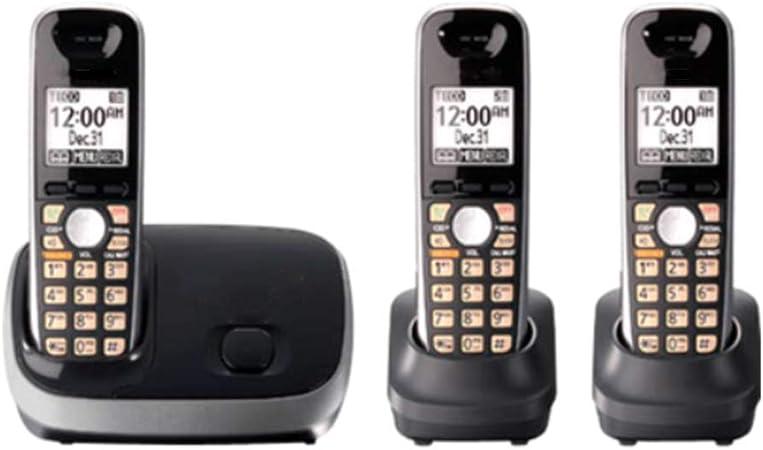 GUOOK TeléFono con BotóN Pulsador Vintage TeléFono InaláMbrico Oficina úNica TeléFono Fijo Hogar AnfitrióN Digital Escalable TeléFono Individual Bienvenido (Color: C): Amazon.es: Hogar