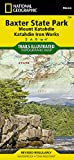 Baxter State Park [Mount Katahdin, Katahdin Iron Works] (National Geographic Trails Illustrated Map)