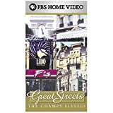 Great Streets - The Champs Elysees (France) with Halle Berry [VHS]
