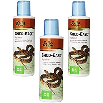 Amazon Com Zilla Reptile Health Supplies Shed Ease Bath