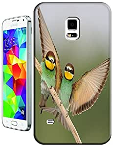 The Man Bird court woo to lady bird design cell phone cases for Samsung Galaxy N3