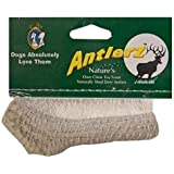 "Set of 2, Antlerz Dog Chews, Medium 4"" - 4.5"", Pet Treat Natural Shed in USA Deer Antler"