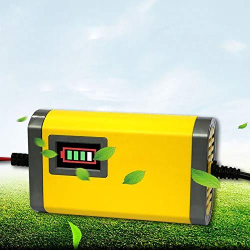 HermosaUKnight Caricabatteria Automatico per Auto 12V 2AH-20AH Mantellatore Automatico per Moto