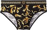 Versace Men's Low Rise Slip Black/Gold 5