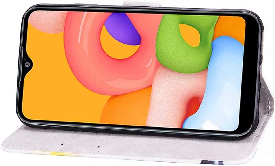 Chien dr/ôle Coque Compatible avec CRABOT Samsung Galaxy A10//M10 /Étui pour T/él/éphone,Shockproof PU Leather,Flip Wallet Cases with Magnetic Kickstand Money Pouch+1*Protecteur D/écran Gratuit