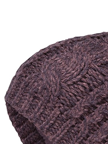 THE NORTH FACE Cable Minna Beanie Women | Black Plum (NF0A358A) (O/S) (North Face Womens Cable)