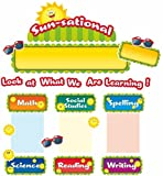 Teacher Created Resources Happy Suns Sunsational Work Bulletin Board (5438)