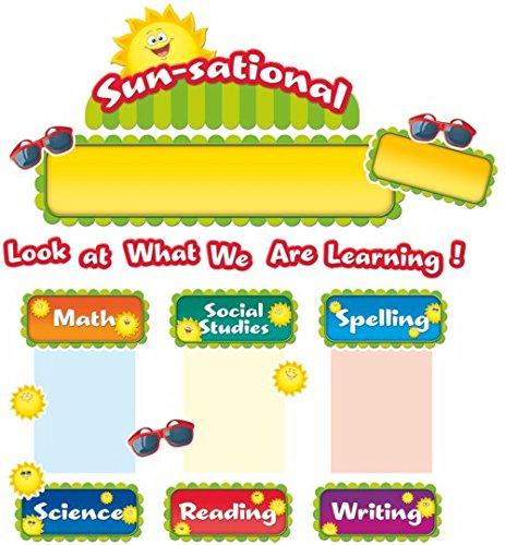 Teacher Created Resources Happy Suns Sunsational Work Bulletin Board (5438)