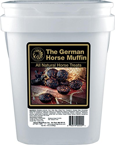 DPD The German Horse Muffin All Natural Horse Treats - 14 Pound Bucket by DPD (Image #1)