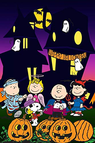 Charlie Brown Halloween Iron On Transfer for T-Shirts & Other Light Color Fabrics #11 -