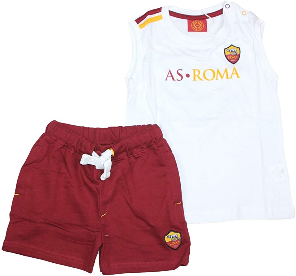 AS Roma Completo Completo T-Shirt+Short Infant R13462-R13390