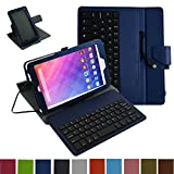 Mama Mouth Rotary Stand PU Leather Cover With Removable Micro USB Keyboard for 8