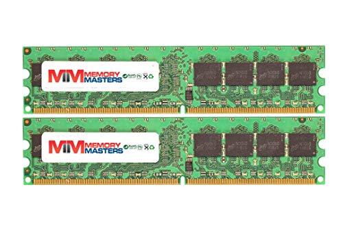 MemoryMasters 2GB (2 X 1GB) DDR2 400MHz PC2-3200 240-pin Memory RAM DIMM for Desktop ()