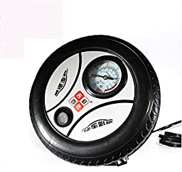 RUIRUI 12V portable inflatable pump car tire inflator electric inflator