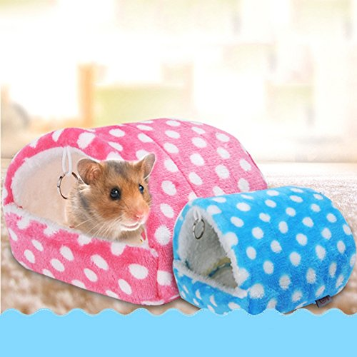 PanDaDa Pet Rat Hamster House Bed Cage Toys House Hanging Cage Hammock