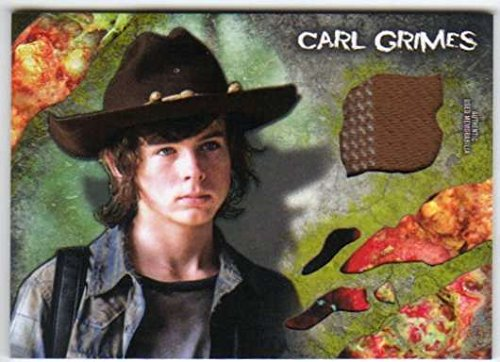 2016 Topps The Walking Dead Survival Box Infected Costume Relic /99 Carl Grimes (Carl Costume)