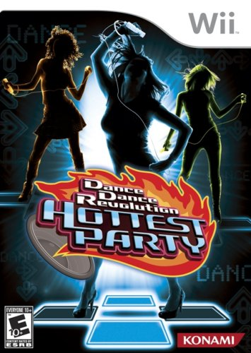 (Dance Dance Revolution Hottest Party - Software Only - Nintendo Wii)