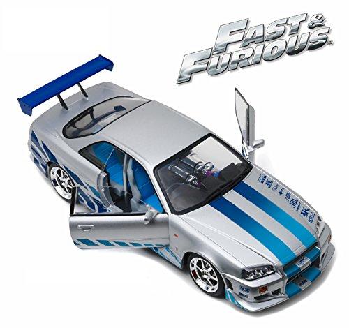 Fast & Furious Nissan Skyline GT-R R34 Vehicle Die-cast