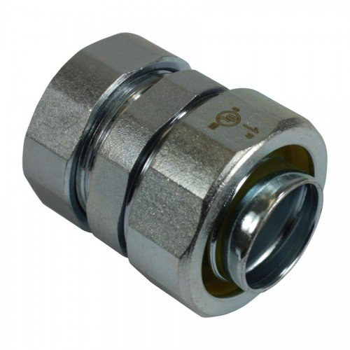 """SELTC-50 Steel Emt To Liquid Tight Coupling, Compression Type, 1/2"""""""
