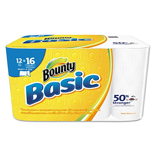 Bounty 92970 Basic Select-A-Size Paper Towels, 5-9/10
