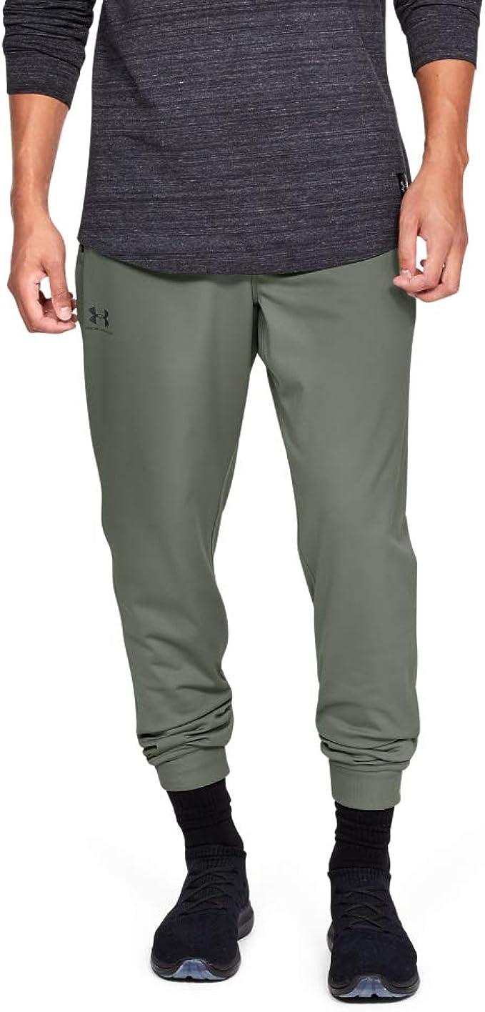 Under Armour Sportstyle Tricot Jogger Pantalones, Hombre: Amazon ...