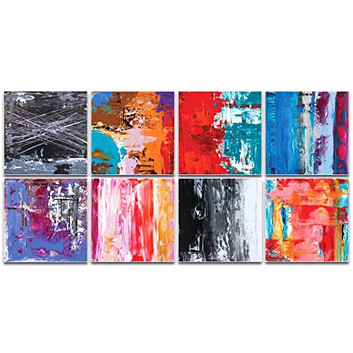 Abstract Wall Art 'Urban Windows Large' by Celeste Reiter