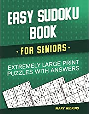 Easy Sudoku Book For Seniors Extremely Large Print Puzzles With Answers: Activity Game Book To Boost Your Brain