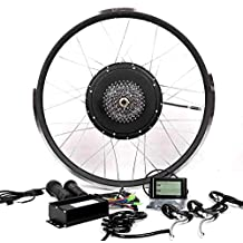 36V500W Hub Motor Electric Bike Conversion Kit + LCD+ Disc Brake Theebikemotor