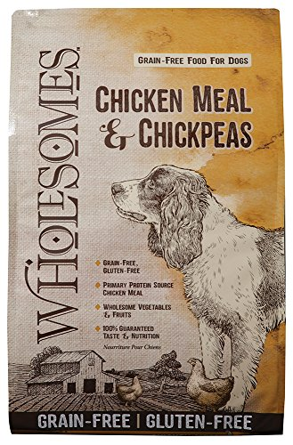 Wholesomes Chicken Meal & Chickpeas Grain Free Dry Dog Food, 35 lb. ()