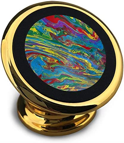 抽象芸術 携帯電話ホルダー おしゃれ 車載ホルダー 人気 磁気ホルダー 大きな吸引力 サポートフレーム 落下防止 360度回転