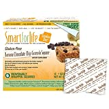 SCS Smart for Life Cookie Diet 7-day Meal Replacements - Gluten Free Banana Chocolate Chip Granola Squares - 42 Ct.
