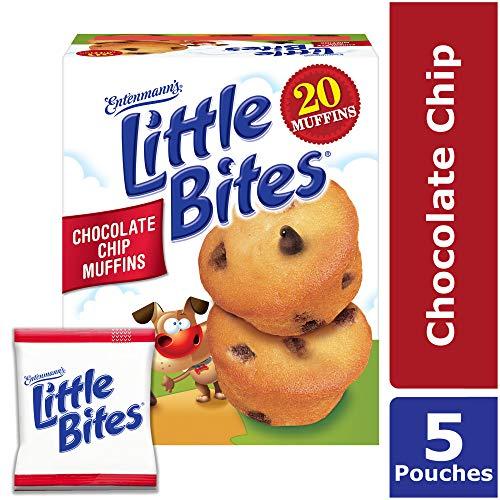 Entenmanns Little Bites Chocolate Chip Muffins, 20 Count