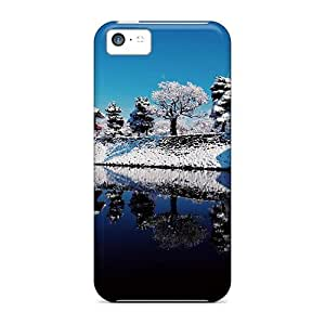 fenglinlinTop Quality Protection Japanese Castle Reflection Cases Covers For iphone 5/5s