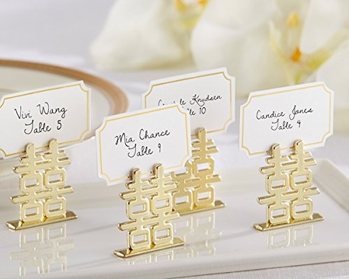 ''Double Happiness'' Place Card Holders - Total items 72 by Kateaspen (Image #1)