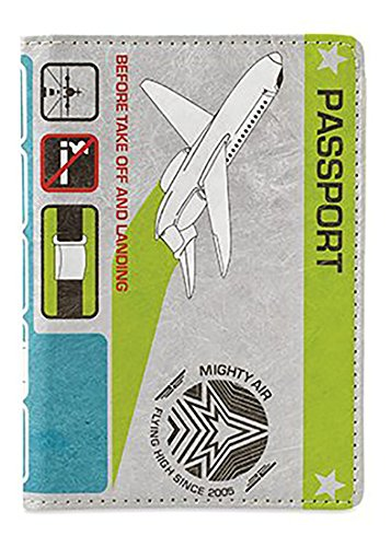 Dynomighty Men's Mighty Passport Cover In Flight, Multi, One Size