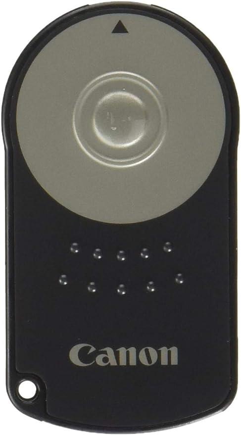 Canon RC-6 - Mando a Distancia para cámaras Digitales Canon, Negro ...