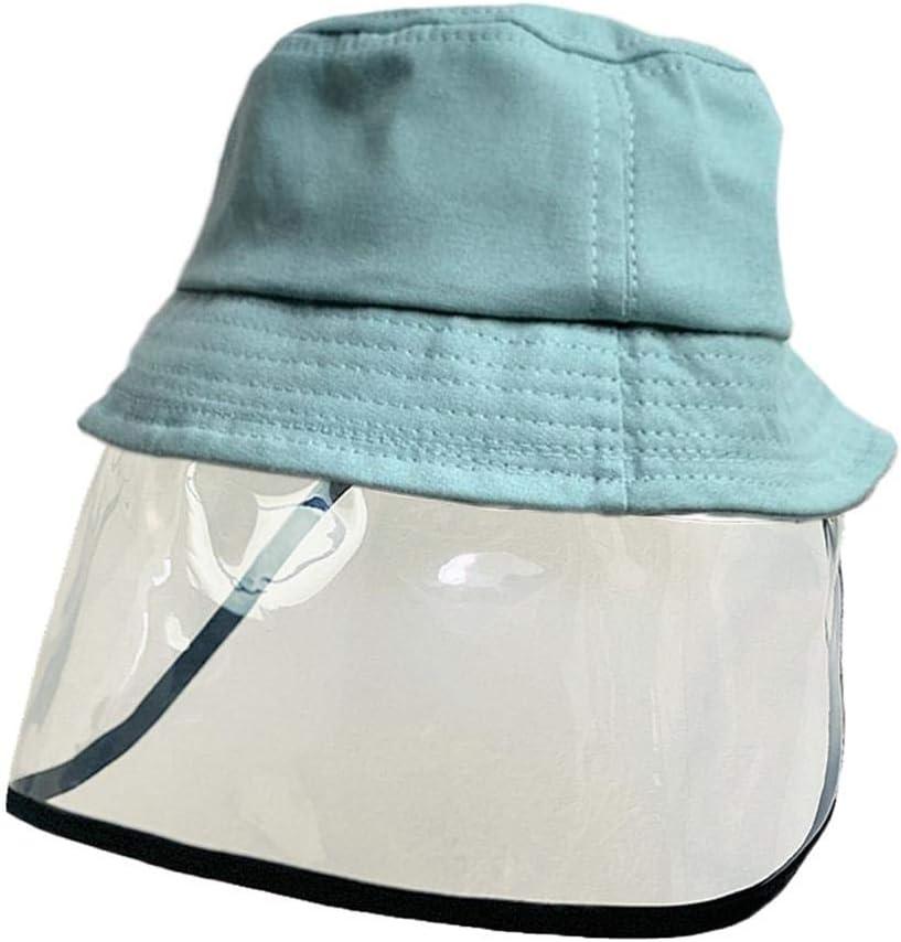 LAAT Sombrero para niña niño Pantalla Facial, protección máscara Facial Visera, parasoles protección máscara Facial Visera para 2-6 años de Edad
