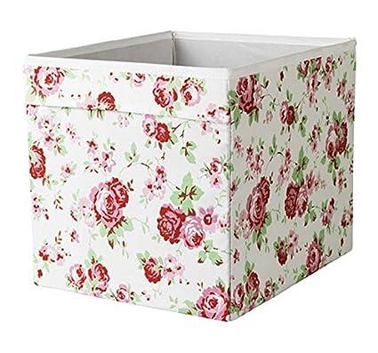 IKEA Drona Caja, Diseño de flores, 3 unidades